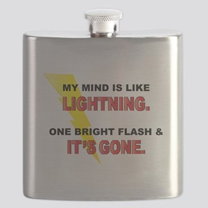My Mind - Funny Saying Flask
