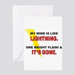 Flash greeting cards cafepress my mind funny saying greeting card m4hsunfo