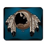 Metis Art Mousepad First Nations Art Buffalo