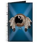 Native Art Journal Notepad Wildlife Artwork