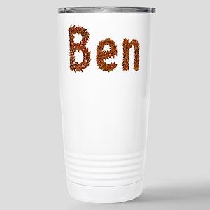 Ben Fall Leaves Stainless Steel Travel Mug