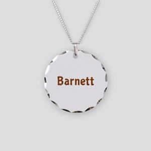 Barnett Fall Leaves Necklace Circle Charm