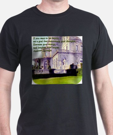 If You Want to Be Happy - Carnegie T-Shirt