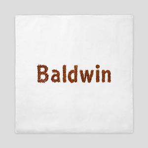 Baldwin Fall Leaves Queen Duvet