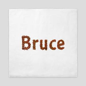 Bruce Fall Leaves Queen Duvet