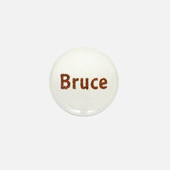 Bruce Fall Leaves Mini Button