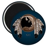 """Native Art 2.25"""" Magnet 100 pack Wildlife Artwork"""