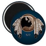 First Nations Fridge Magnets 10 pk Metis Wildlife