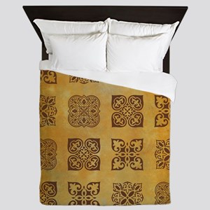 RUST Queen Duvet