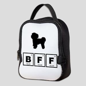 Bichon Frise Neoprene Lunch Bag