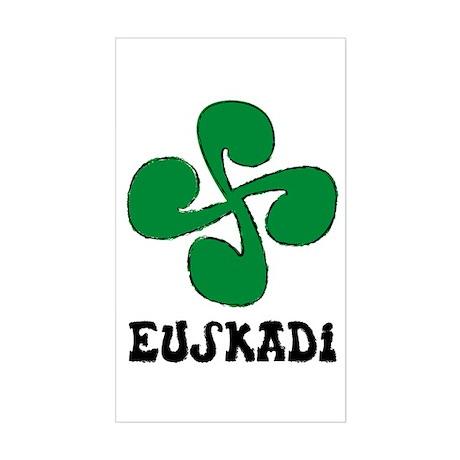 Euskadi Rectangle Sticker