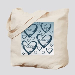 Love Filled Hearts Tote Bag