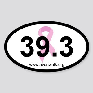 Avon Walk Oval Bumper Sticker