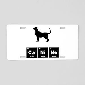Bloodhound Aluminum License Plate