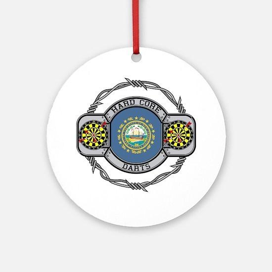 New Hampshire Darts Ornament (Round)