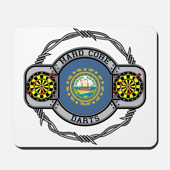 New Hampshire Darts Mousepad