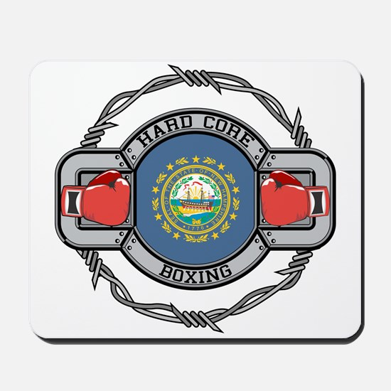 New Hampshire Boxing Mousepad