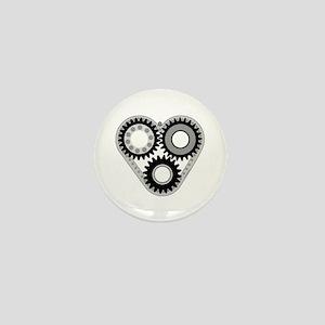 Mechanical Heart Mini Button