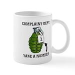 Complaint Dept. [Grenade] Mug