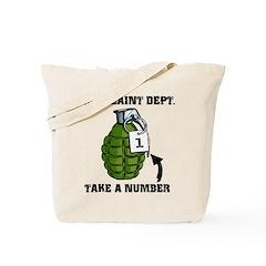 Complaint Dept. [Grenade] Tote Bag