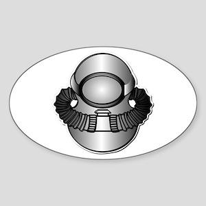 Army Diver - SCUBA wo TXT Sticker (Oval)