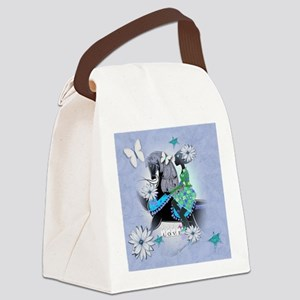 Carrosel Horse Delight Canvas Lunch Bag