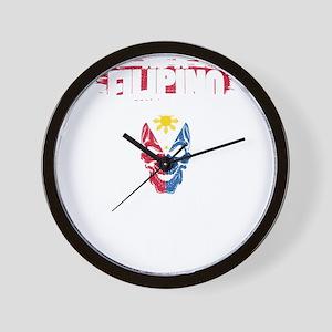 As A Filipino Wall Clock