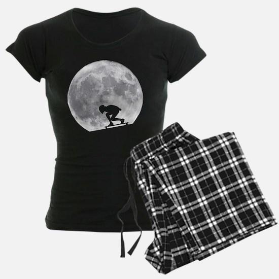 Moon longbarding Pajamas