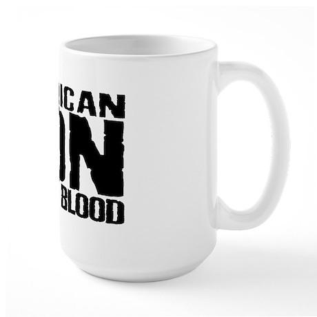 American NDN Native Blood Large Mug