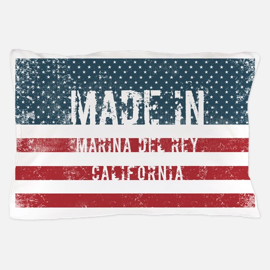 Made in Marina Del Rey, California Pillow Case