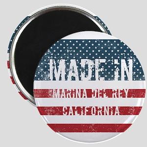 Made in Marina Del Rey, California Magnets