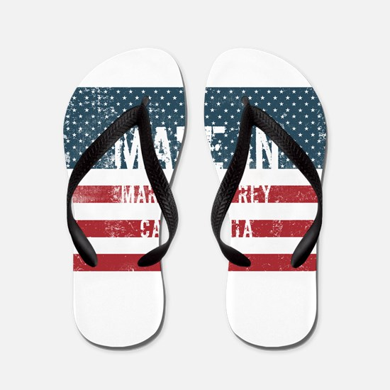 Made in Marina Del Rey, California Flip Flops