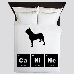 Boston Terrier Queen Duvet