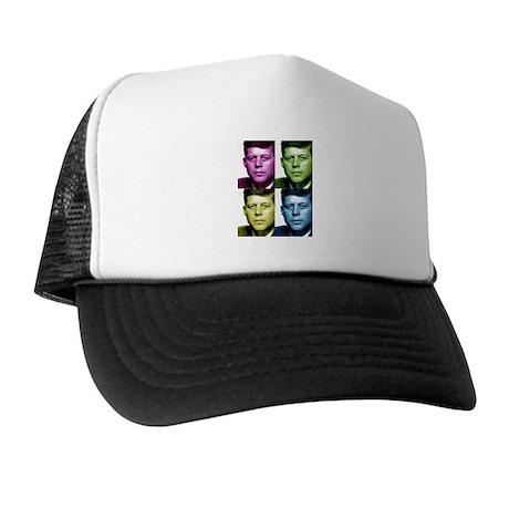JFK John F. Kennedy Trucker Hat