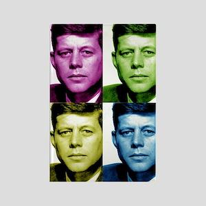 JFK John F. Kennedy Rectangle Magnet