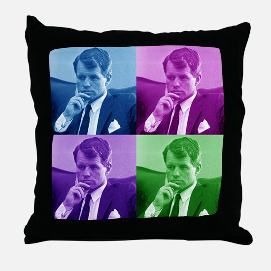 Robert Bobby Kennedy Throw Pillow