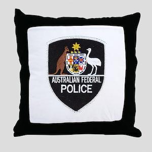 Aussie Feds Throw Pillow