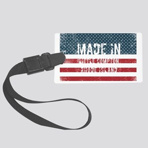 Made in Little Compton, Rhode Is Large Luggage Tag