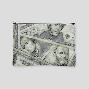 Money Makeup Pouch