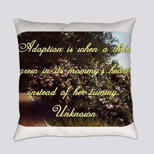 Adoption Is When A Child - Unknown Everyday Pillow