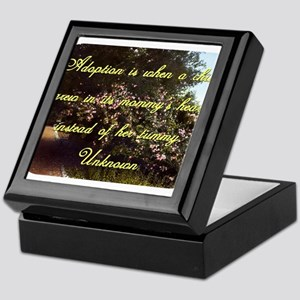 Adoption Is When A Child - Unknown Keepsake Box