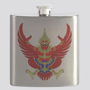 Thai Garuda Symbol Flask