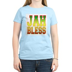 Jah Bless Women's Pink T-Shirt
