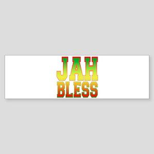 Jah Bless Bumper Sticker