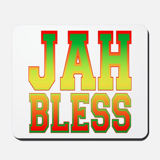 Jah Bless Mousepad