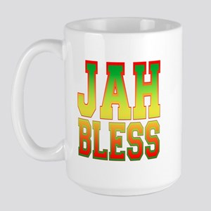 Jah Bless Large Mug