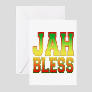 Jah greeting cards cafepress jah bless greeting cards pk of 10 m4hsunfo