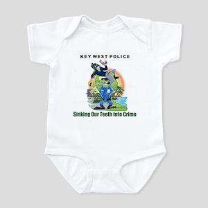 KEY WEST POLICE Infant Bodysuit