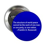 FDR on Peace Button