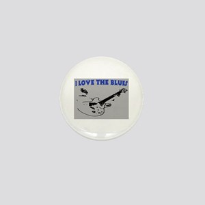 I LOVE THE BLUES Mini Button